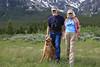 Joel and Suzanna Price with Enzo at Continental Divide, Idaho