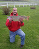 Stephen Frost of Draper, UT caught this 10lb Hybrid Trout in Henry's Lake, June 7, 2008 at RedRock RV Park, Island Park, ID.