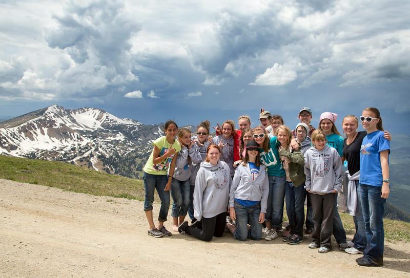 Lyman, Idaho Morman 3rd Ward Girl's Camp Mt Jefferson in background