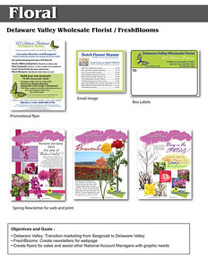 Resume page floral 2