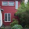 Chester's Kitchen: garden/barn outside of kitchen door