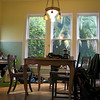 CHester's Kitchen: low view of table