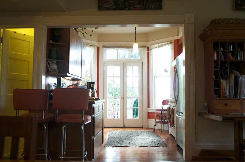Ozzie's Kitchen: view from Dining Room
