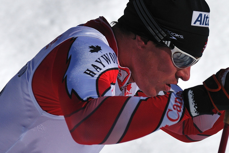 Noram Nordic Race, Blackjack, Rossland, BC - George Grey