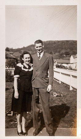 [1940? Well - you do look happily married - and I think it's good too.]
