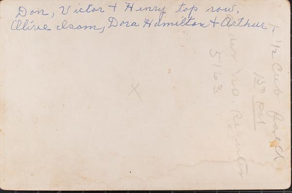 Nanny Oakland's handwriting.