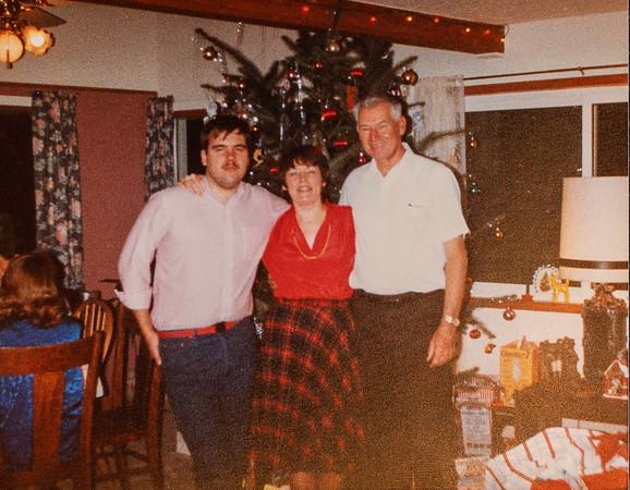 Christmas, 1984?  At Bob & Barb Reed's house in Washougal, WA.