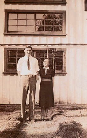 Taken about their wedding time.  1936 in Oakland, OR.