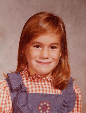 [Jenni Rains 1975] School picture, 5 years old.