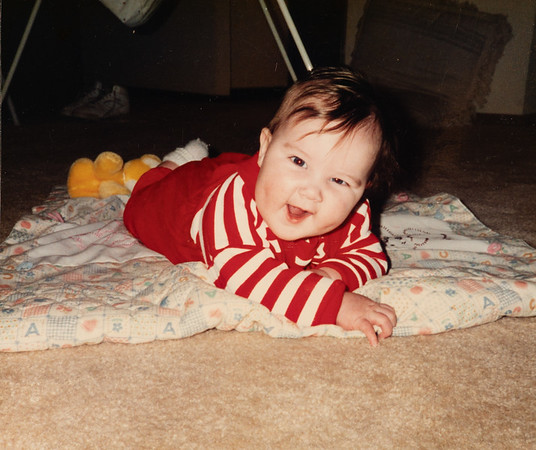 [Michael Andrew Rains 5 months old.]