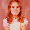 [Jenni Rains Nov 1977] School picture, 7 years old.