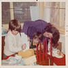[Greg, Jenni & Jan.  Christmas 1974]