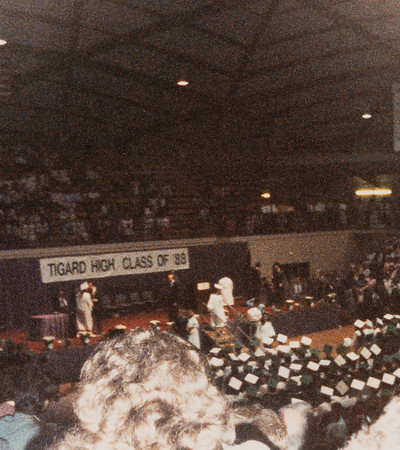 [Jennie's graduation, June 11, 1988]