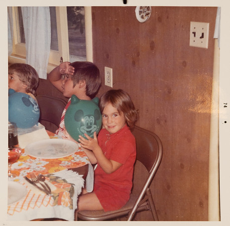 [Jennie's Birthday at Rains house, Roseburg.  8-24-74]