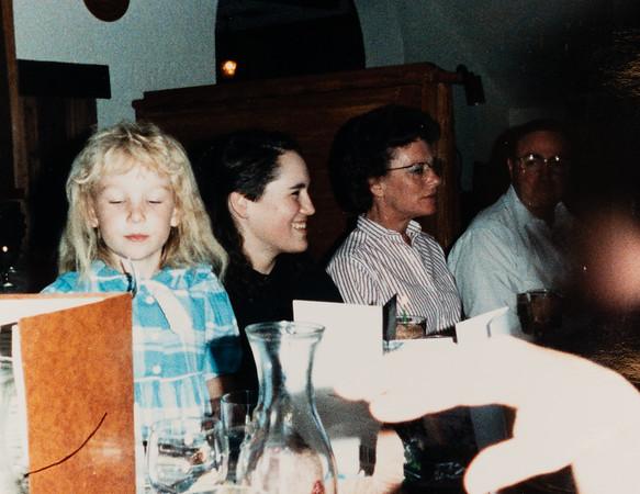 [Jennie at graduation.] Also, Diane Powers & friend Jack.