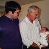 [3 genreations.  Dad, Grandpa & Michael (5 weeks old).]