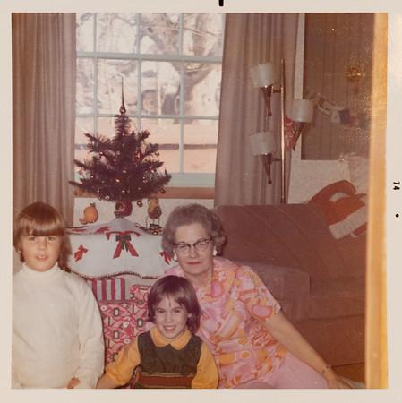 Grandma Rains with Greg & Jehnee.