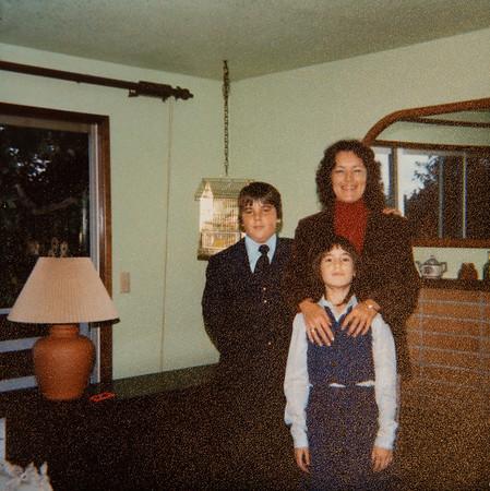 [Jan Greg + Jennie.  Nov 4, 1979.]
