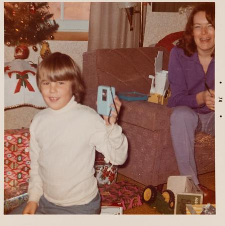 [Christmas 1974. Greg]