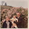 [Pauline + Dick Rains and Greg.  1968] First birthday.