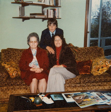 [Nov. 4, 1979 at Jan's house. Pauline Rains, Jan Rains, Greg Rains]