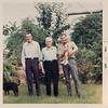[Pauline, four generations.  June 1968.  Rex, Dick, Larry, + Greg Rains]