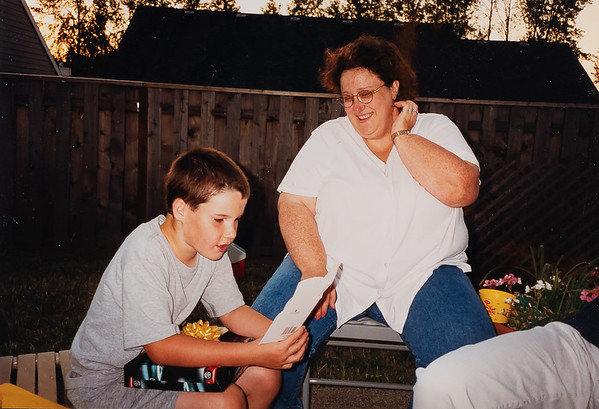 Michael & Aunt Maureen