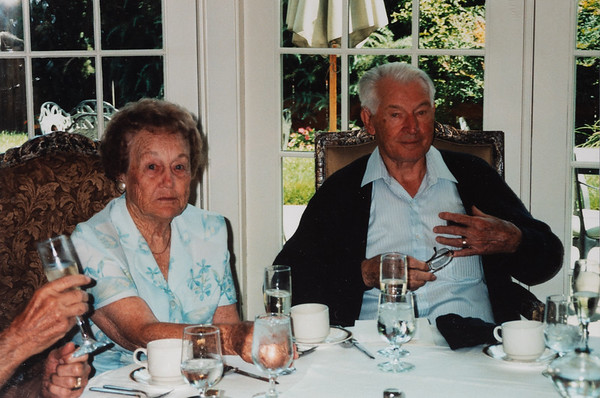Great Grandpa's 92nd birthday.  July 2006
