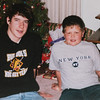 Christmas 2005.  Michael & Eston.  Last Xmas at Great Grandma and Grandpa's house.