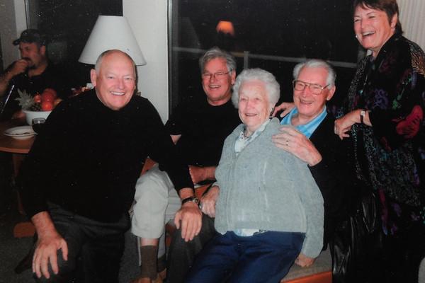 Grandma's Birthday.  Driftwood Shores.  Jan 2011.