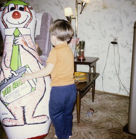 Greg loved that Yogi Bear.
