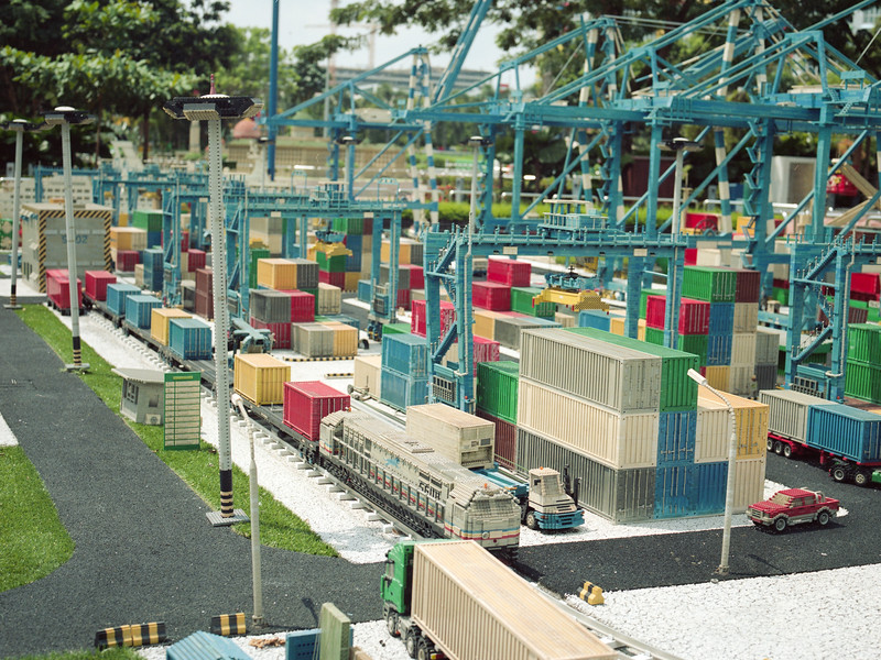 Container Terminal   Legoland   July 2016