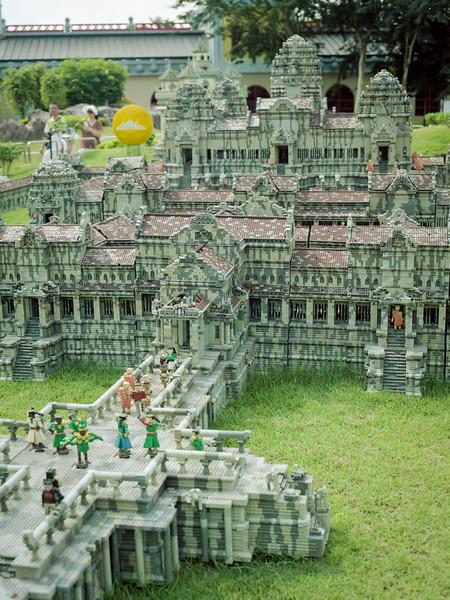 Angkor Wat   Legoland   July 2016