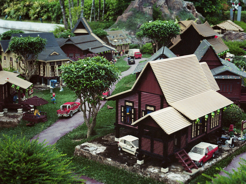 Malaysian Kampung   Legoland   July 2016