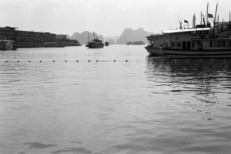 Ha Long Bay boat harbour