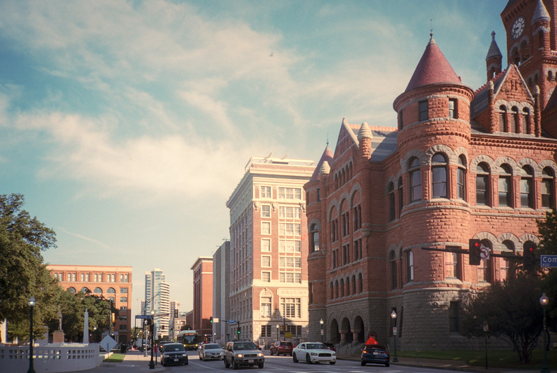 Red Museum and the School Book Depository Building