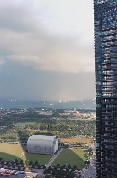 Rain over Batam