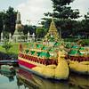 Boat & Stupa | Legoland | July 2016