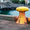 Yellow Bollard, Wellington Waterfront