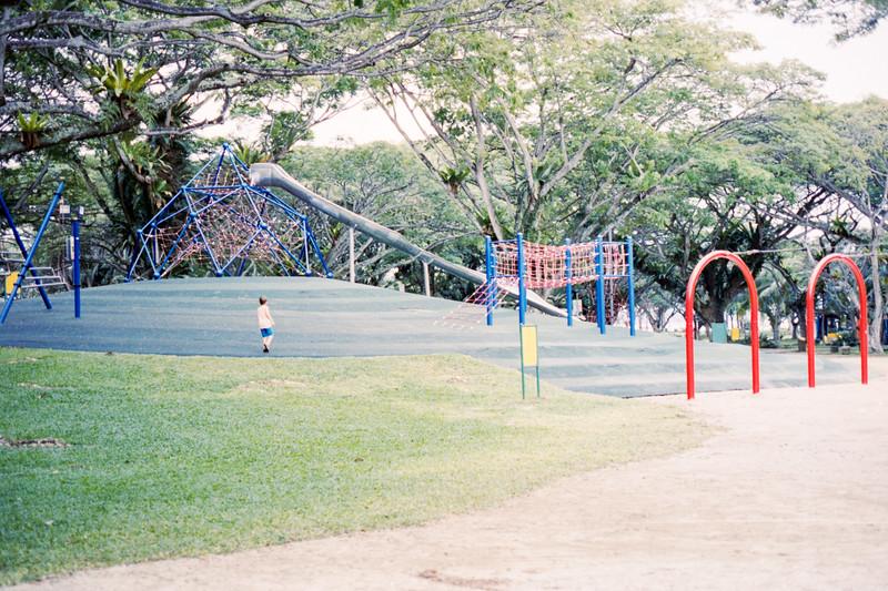 Children's Playground at Pasir Ris Park, Singapore.