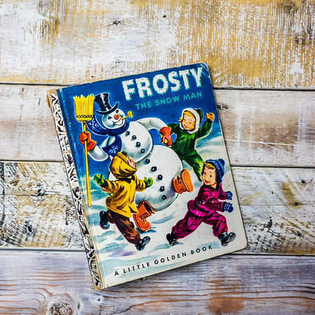 Frosty the Snow Man— Golden Press, 1951. First Edition; First Printing. Hardcover.