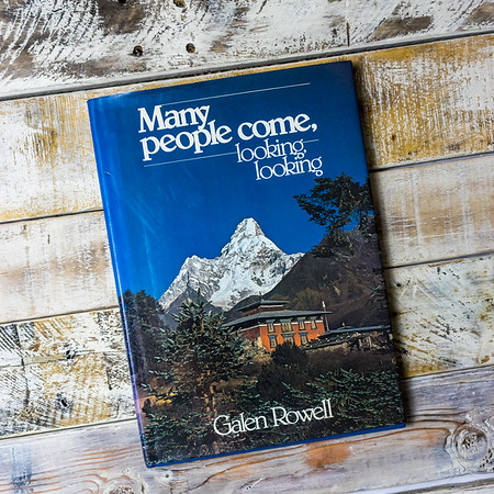 Many people come, looking, looking Hardcover by Galen A. Rowell  (Author
