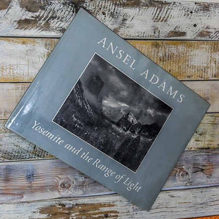 Yosemite and the Range of Light— Ansel Adams Autographed first edition