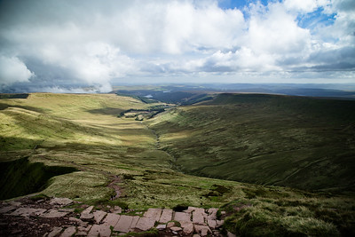 Brecon Beacons - From Pen Y Fan