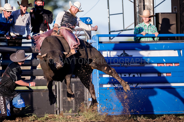 Dusty Gliko Bull Riding Challenge 2018