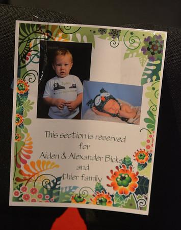 AIDEN AND ALEXANDER BICKET DEDICATION 8-11-13