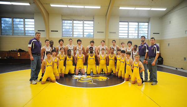 C.E.BYRD WRESTLING TEAM 1-24-13