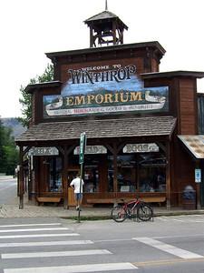 Winthrop Emporium Building, Winthrop, Washington State Client: Stock Photography Agency.  SV100108
