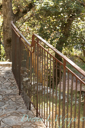 Stonework - forged iron railing_4577