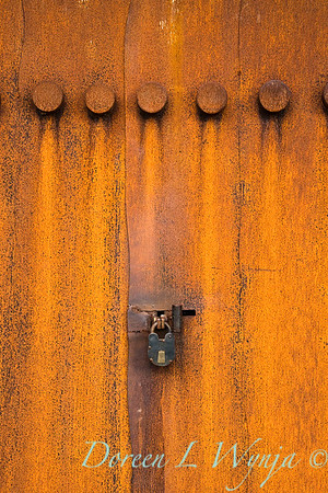Rusted door lock_0360